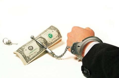 Под Киевом задержали заемщика, который не хотел отдавать банку деньги
