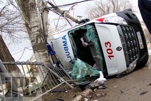 Авария в Феодосии: «Скорая» против погонов