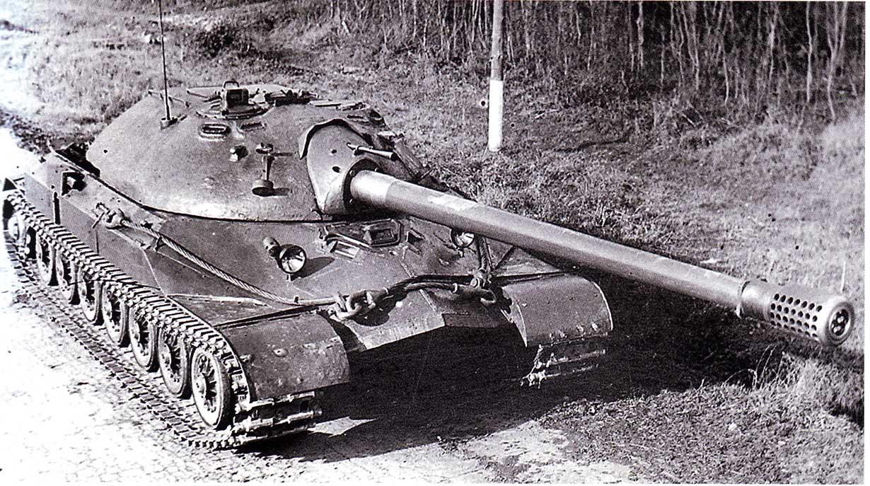 Обзор внутри танка ИС-7