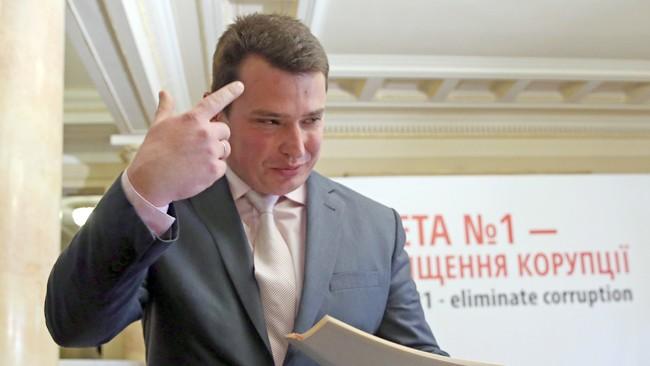 Фото Артема Слипачука 16.04.15 Церемония представления директора Национального антикоррупционного бюро Украины с участием президента Украины