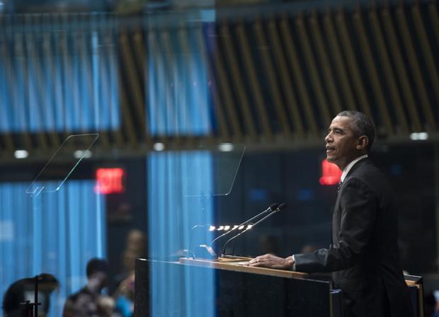 Obama at SDG summit