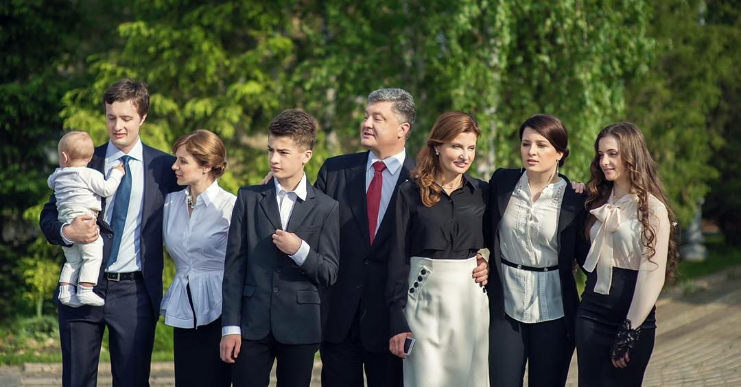 фото семья порошенко