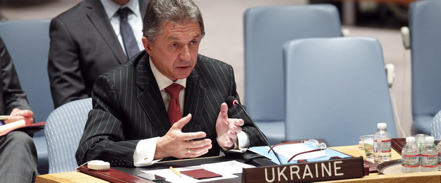Security Council Meeting Letter dated 28 February 2014 from the Permanent Representative of Ukraine to the United Nations addressed to the President of the Security Council (S/2014/136)