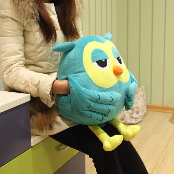 Korean-dramas-Heirs-long-leg-font-b-owl-b-font-plush-soft-hand-warmer-doll-pillow