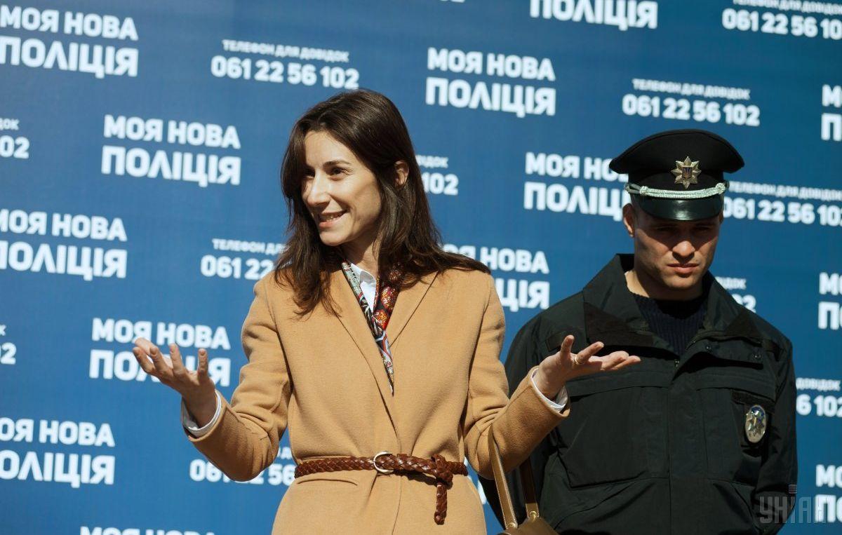 Эка Згуладзе уходит сдолжности первого зама руководителя МВД