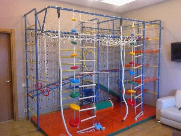 Детский спортивный комплекс в квартире своими руками