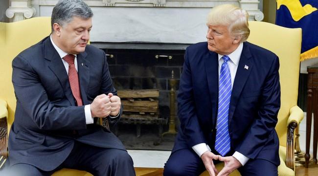 Порошенко Трамп встреча