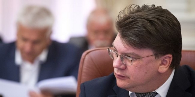 Youth and Sports Minister Ihor Zhdanov