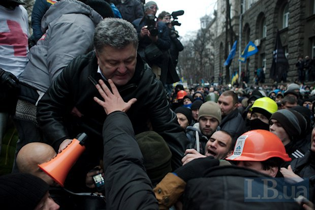 """Віче на Майдані, розбір """"ялинки Януковича"""" і штурм Банкової: основні моменти 1 грудня 2013 року - Цензор.НЕТ 8531"""