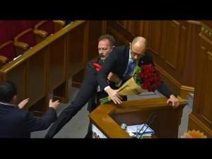 Доклад Яценюка и драка с Барной. Популизм или политический заказ?